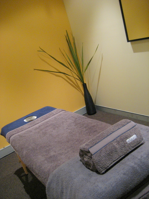 massage therapy room at Leichhardt physiotherapy clinic